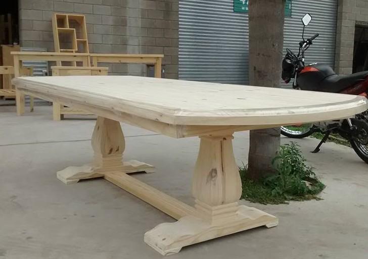 tavoli artigianali in legno massello