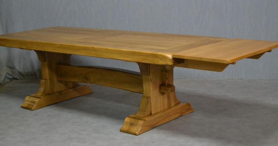 Tavoli in rovere falegnameriartigianale for Tavoli rustici allungabili