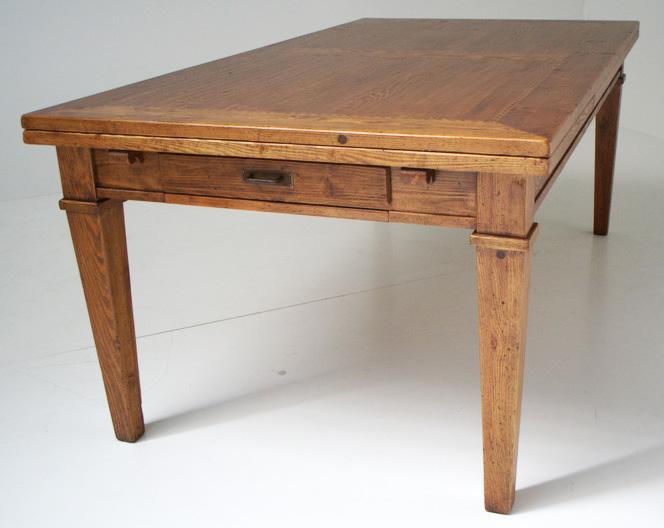 Tavoli in legno da osteria for Tavoli estensibili in legno