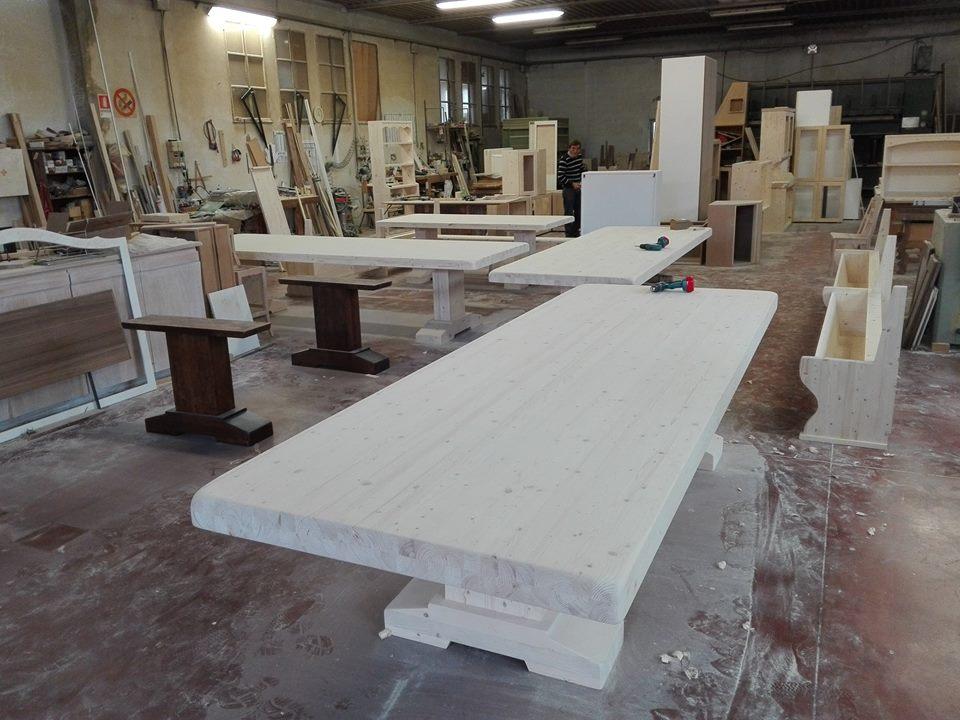 tavoli artigianali su misura