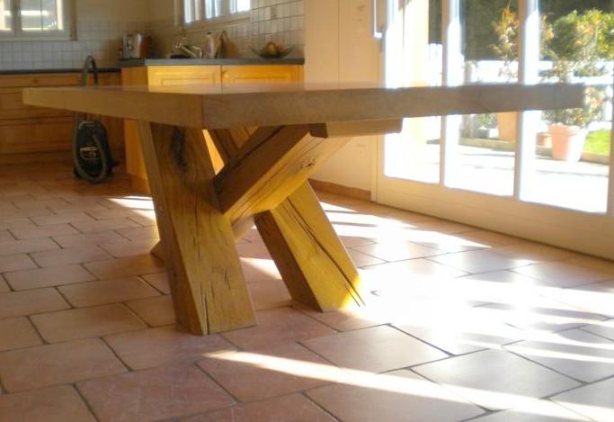 Falegnameria su misura fabbrichiamo manualmente arredi di qualit tavoli su misura bologna - Tavoli rustici in legno ...
